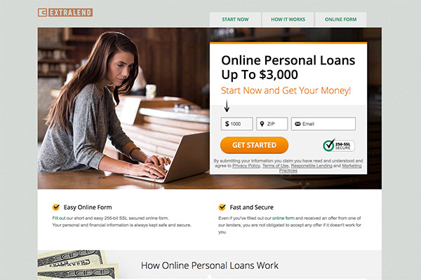 EXTRALEND REVIEW ONLINE LOANS EXTRALEND.COM