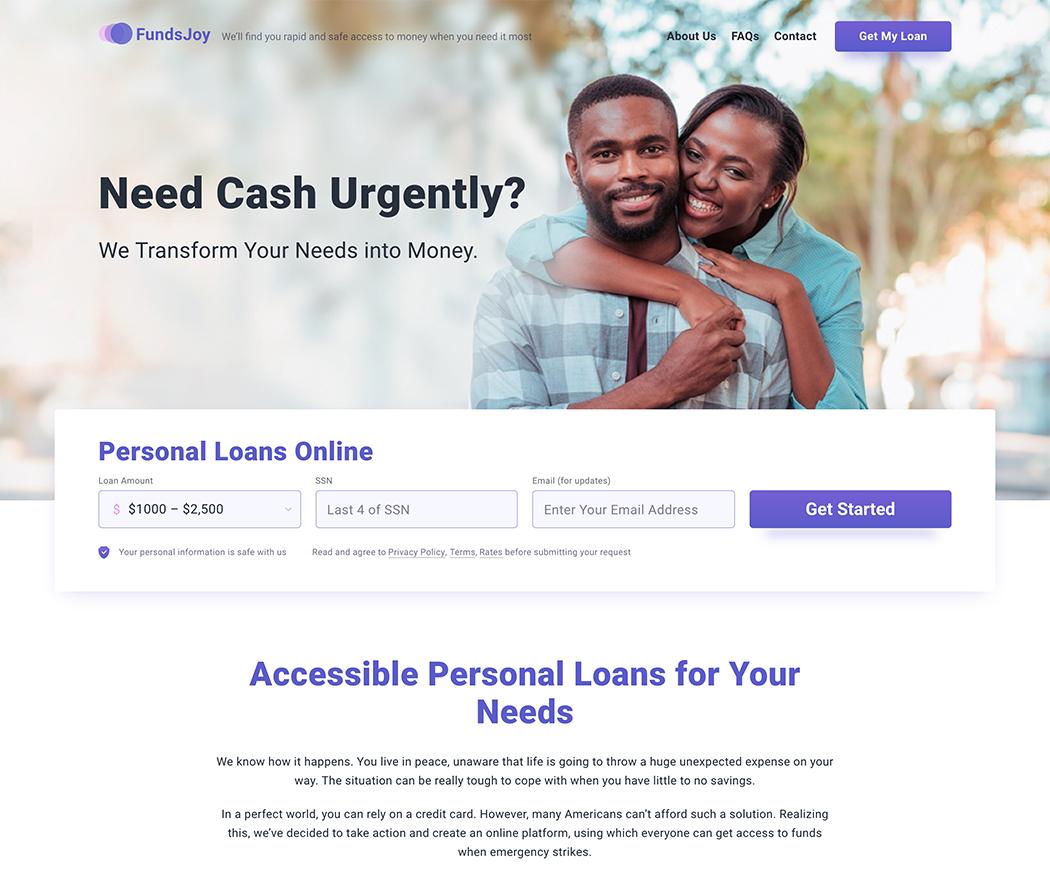 FundsJoy Review FundsJoy.com Online Loans.
