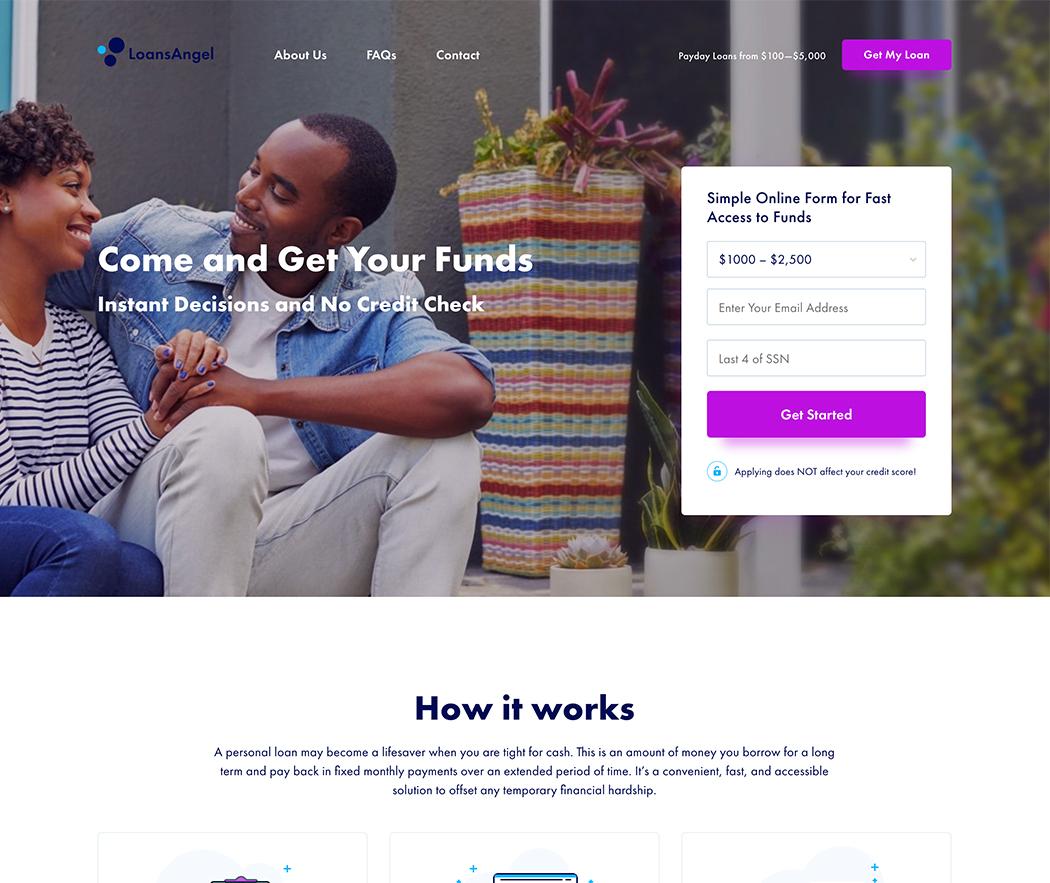 LoansAngel.com Review Online Loans.